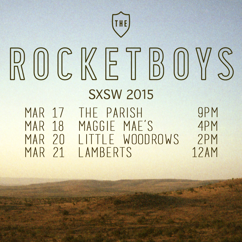 The Rocketboys SXSW 2015 Instagram